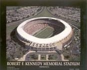 RFK Stadium Aerial Poster