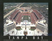 Raymond James Stadium Aerial Poster