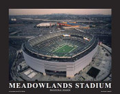 MetLife Stadium New York Jets Aerial Poster