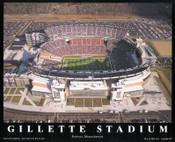 Gillette Stadium Aerial Poster