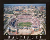 M&T Bank Stadium Aerial Poster