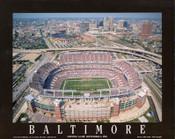 M&T Bank Stadium Aerial Poster
