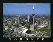 Rogers Centre Aerial Poster
