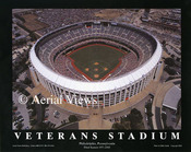 Veterans Stadium Aerial Poster 1