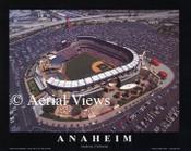 Angel Stadium Aerial Poster