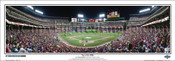 """""""Top of the Fifth"""" 2010 World Series Panoramic Framed Poster"""