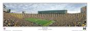"""28 Yard Line"" Wolverines at Michigan Stadium Panoramic Poster"