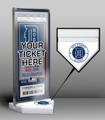 Detroit Tigers My First Game Ticket Display Stand