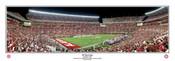 """30 Yard Line"" Alabama at Bryant Denny Stadium Panoramic Poster"