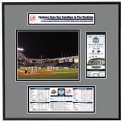 Final Game At Yankee Stadium Ticket Frame - Yankees