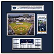 2008 MLB All-Star Game Yankee Stadium Ticket Frame