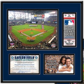 Safeco Field Ticket Frame - Mariners