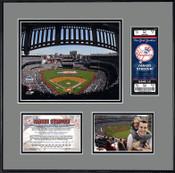 New Yankee Stadium Ticket Frame - Yankees