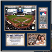 Miller Park Ticket Frame - Brewers