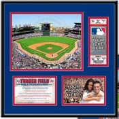 Turner Field Ticket Frame - Braves