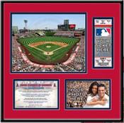 Angel Stadium of Anaheim Ticket Frame - Angels