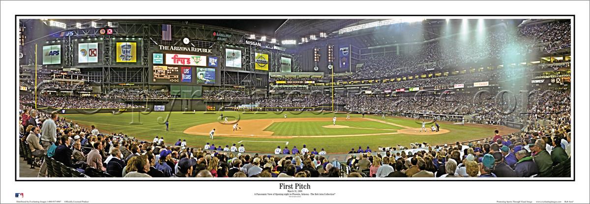 Map Of Arizona Diamondbacks Stadium.Chase Field Arizona Diamondbacks Ballpark Ballparks Of Baseball