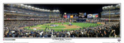 """2009 World Series Champions"" New York Yankees Panoramic Framed Poster"
