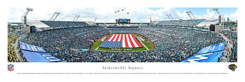 Jacksonville Jaguars At EverBank Field Panorama Poster
