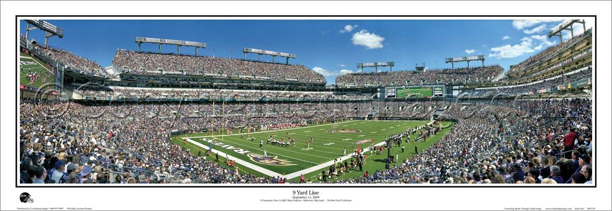 Mt Bank Stadium Baltimore Ravens Football Stadium