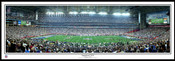 """Super Bowl XLII"" New York Giants Panoramic Poster"