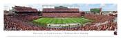 """""""50 Yard Line"""" South Carolina Gamecocks at Williams Brice Stadium Panorama"""