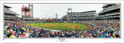"""First Pitch"" Philadelphia Phillies Panoramic Framed Poster"