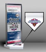 2012 World Series Champions Ticket Display Stand - San Francisco