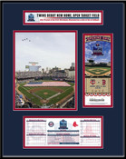 2010 Target Field Minnesota Twins Inaugural Game Ticket Frame