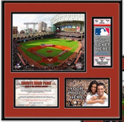 Minute Maid Park Ticket Frame - Astros