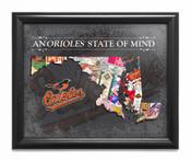 Baltimore Orioles State of Mind Framed Print