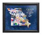 Kansas City Royals State of Mind Framed Print