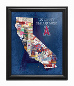 Los Angeles Angels State of Mind Framed Print