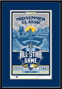 2016 MLB All-Star Game Sports Propaganda Handmade LE Serigraph Framed - San Diego Padres
