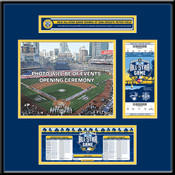 2016 MLB All-Star Game Ticket Frame Jr - San Diego Padres