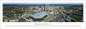 Minnesota Vikings at US Bank Stadium Aerial Poster