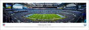 Indianapolis Colts at Lucas Oil Stadium Panoramic Poster