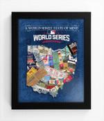 2016 World Series State of Mind Framed Print - Cleveland Indians