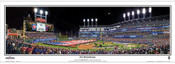 """2016 World Series"" Progressive Field Panoramic Framed Poster"