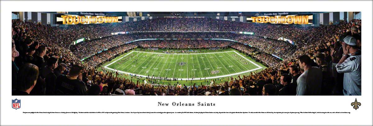 College Football Stadium Panoramic Posters