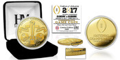 2017 College Football National Championship Dueling Gold Mint Coin