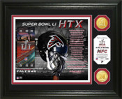 Atlanta Falcons NFC Champs Super Bowl 51 Minted Coin Photo Mint