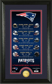 """New England Patriots """"Legacy"""" Supreme Bronze Coin Photo Mint"""