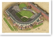 Camden Yards - Baltimore Orioles Print