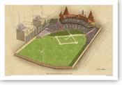 South End Grounds Ballpark Print