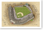 Wrigley Field - Chicago Cubs Print