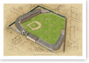 Palace of the Fans - Cincinnati Reds Print