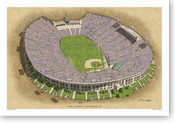 Los Angeles Coliseum - Los Angeles Dodgers Print