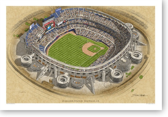 Jack Murphy Stadium History Photos And More Of The San
