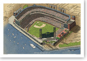 AT&T Park - San Francisco Giants  Print